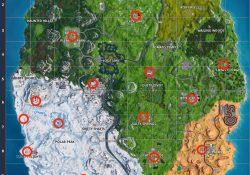 Fortnite Christmas Tree Locations