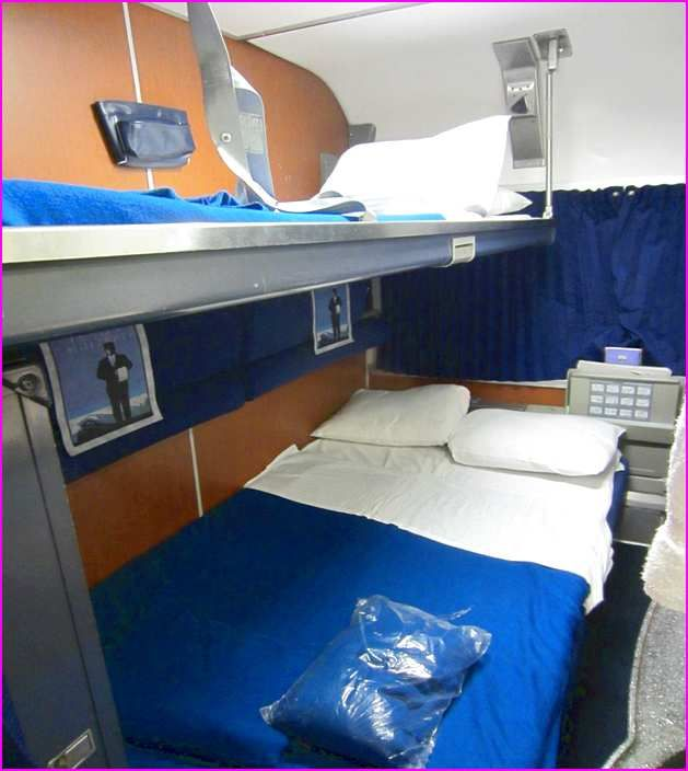 Amtrak Family Bedroom