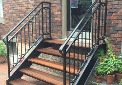 Outdoor Stair Railing Ideas