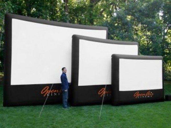 Blow Up Outdoor Movie Screen