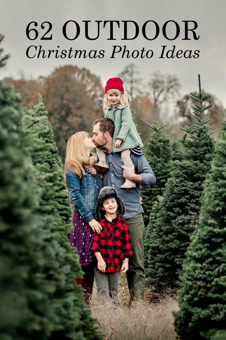 Outdoor Christmas Photoshoot Ideas