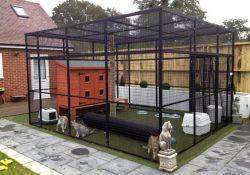 Large Outdoor Cat Enclosures