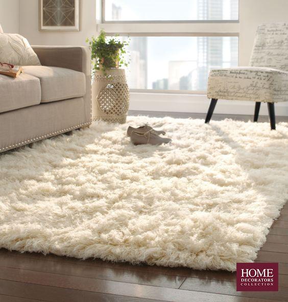 Fluffy Living Room Rug