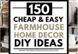 Cheap DIY Farmhouse Decor
