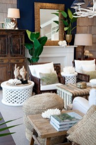 Affordable Living Room Summer Decorating Ideas 02