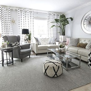 Affordable Living Room Summer Decorating Ideas 12