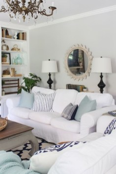 Affordable Living Room Summer Decorating Ideas 18