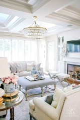 Affordable Living Room Summer Decorating Ideas 47