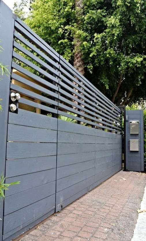 Captivating Fence Design Ideas That You Can Try 48