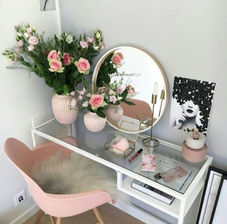 Casual Dressing Table Ideas In Your Room 25