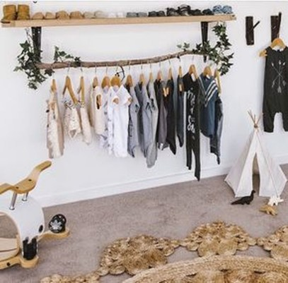 Classy Design Ideas An Organised Open Wardrobe 07