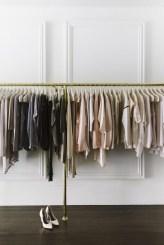 Classy Design Ideas An Organised Open Wardrobe 08