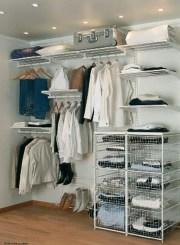 Classy Design Ideas An Organised Open Wardrobe 10