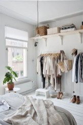 Classy Design Ideas An Organised Open Wardrobe 12