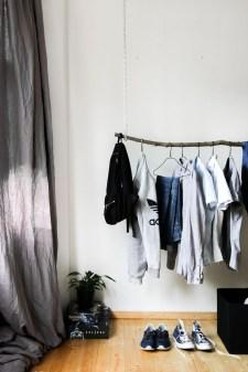 Classy Design Ideas An Organised Open Wardrobe 14