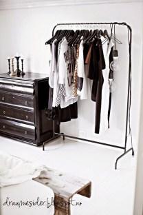 Classy Design Ideas An Organised Open Wardrobe 17