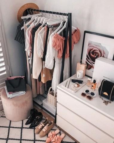 Classy Design Ideas An Organised Open Wardrobe 22