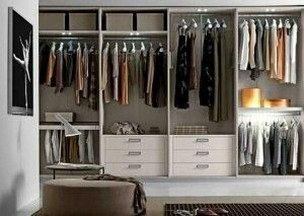 Classy Design Ideas An Organised Open Wardrobe 32