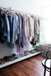 Classy Design Ideas An Organised Open Wardrobe 34