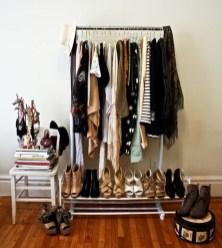 Classy Design Ideas An Organised Open Wardrobe 38