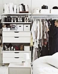 Classy Design Ideas An Organised Open Wardrobe 41