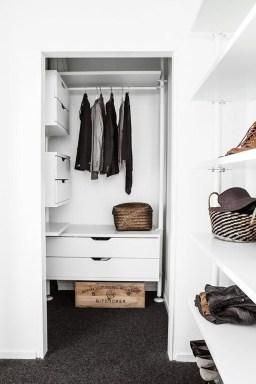 Classy Design Ideas An Organised Open Wardrobe 48
