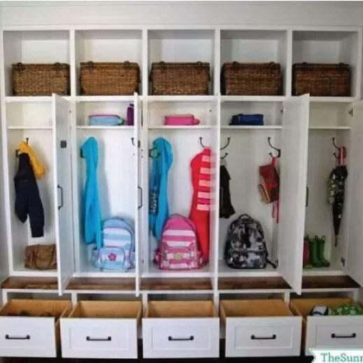 Classy Design Ideas An Organised Open Wardrobe 51