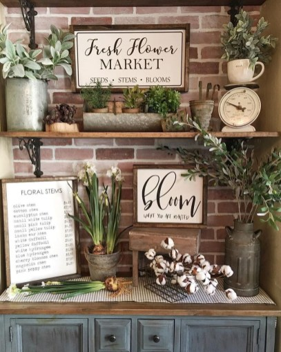 Cute Farmhouse Summer Decor Ideas For Your Inspiration 35