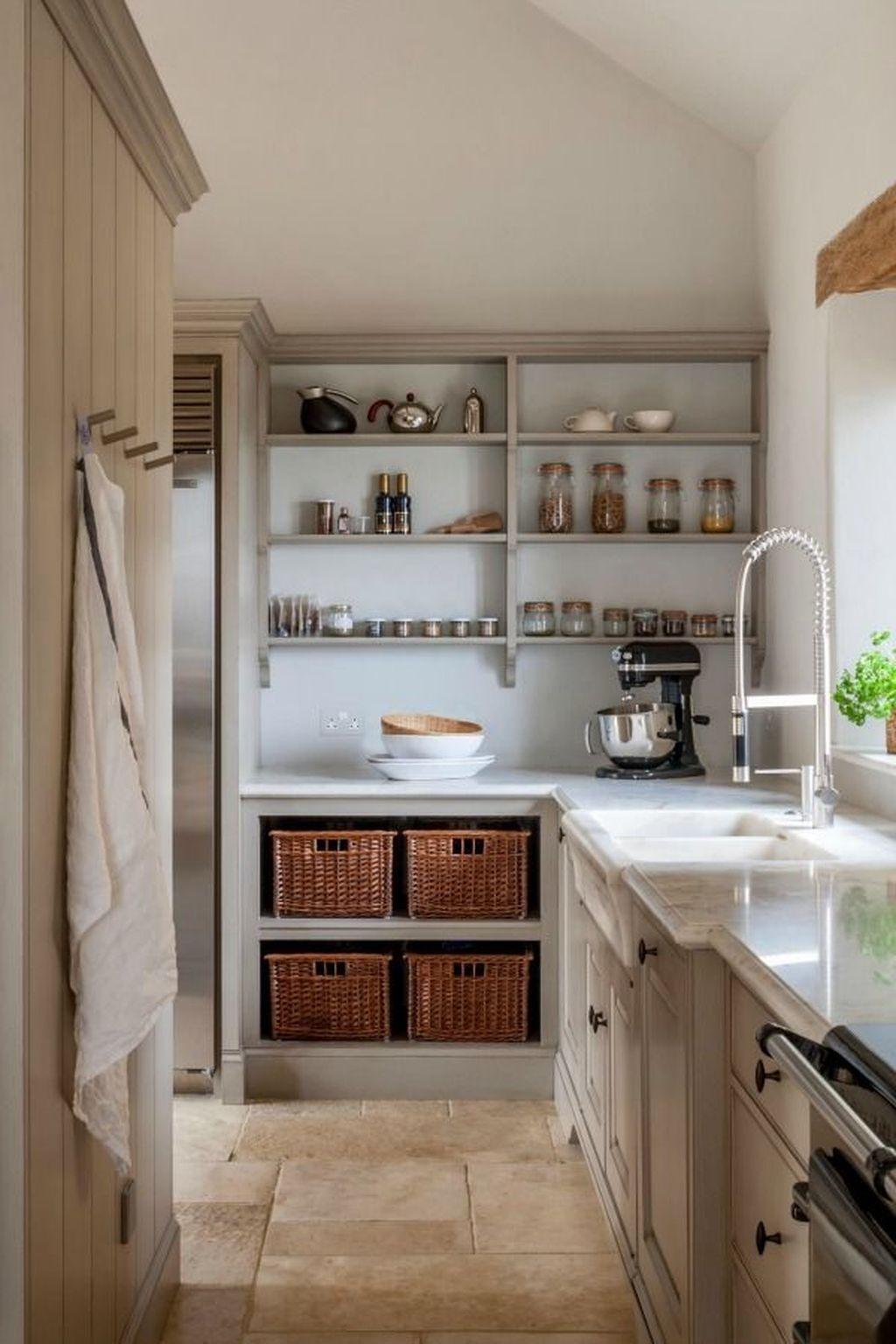 Amazing Organized Farmhouse Kitchen Decor Ideas 48