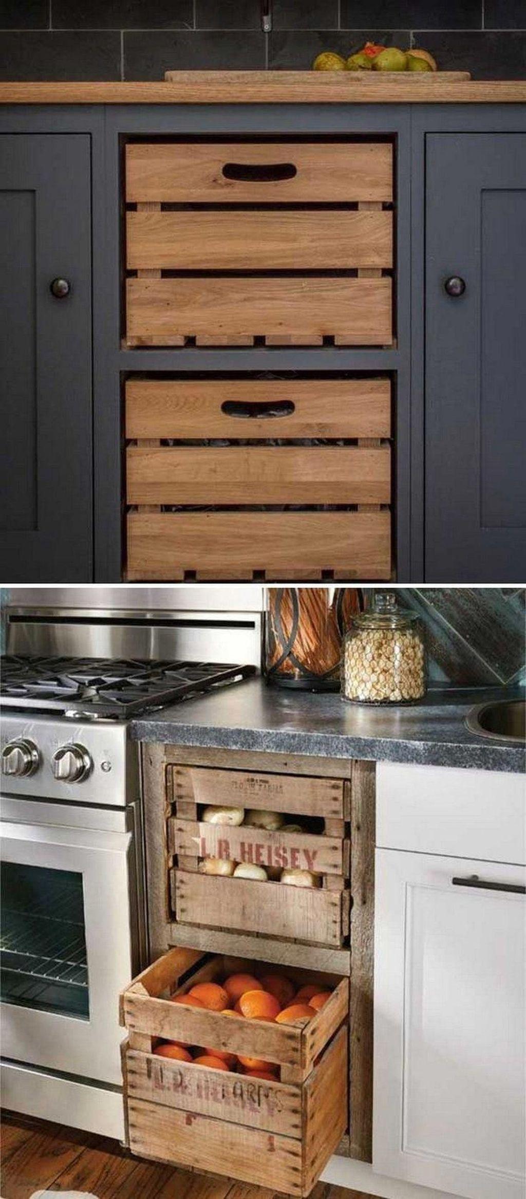 Amazing Organized Farmhouse Kitchen Decor Ideas 50