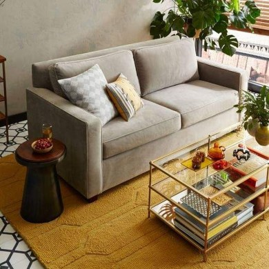 Casual Sofa Ideas With Storage Underneath For Small Space 07