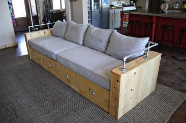 Casual Sofa Ideas With Storage Underneath For Small Space 19