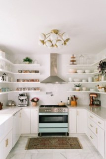 Chic Kitchen Style Ideas For Comfortable Old Kitchen 31
