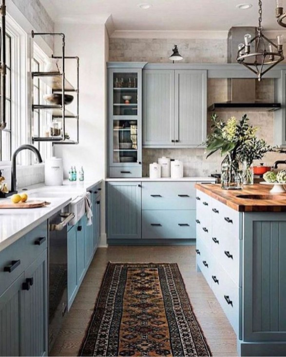 Chic Kitchen Style Ideas For Comfortable Old Kitchen 47
