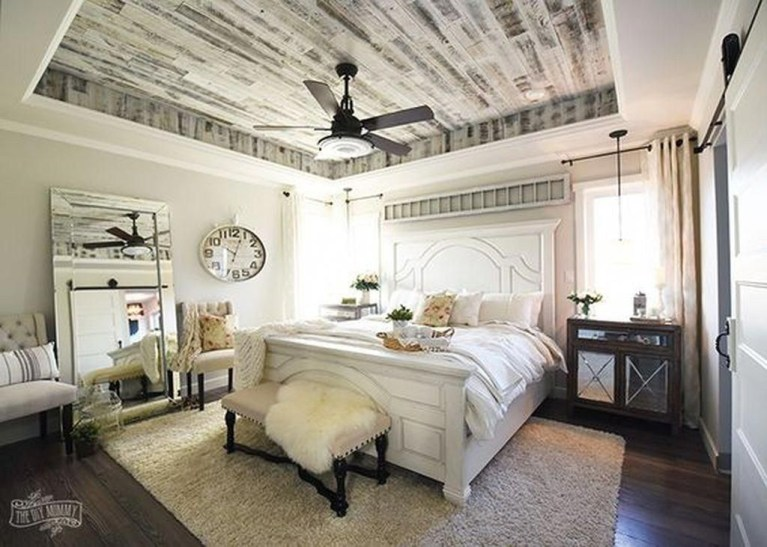 Cool French Country Master Bedroom Design Ideas With Farmhouse Style 39