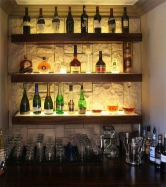 Delicate Home Bar Design Ideas That Make Your Flat Look Great 09