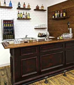 Delicate Home Bar Design Ideas That Make Your Flat Look Great 10