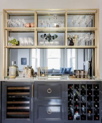 Delicate Home Bar Design Ideas That Make Your Flat Look Great 16
