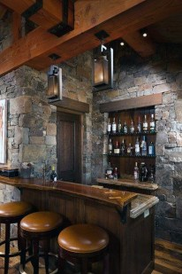 Delicate Home Bar Design Ideas That Make Your Flat Look Great 22