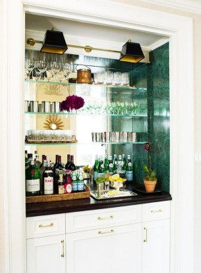 Delicate Home Bar Design Ideas That Make Your Flat Look Great 25