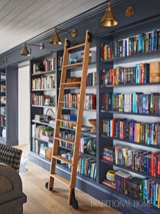 Elegant Bookshelves Decor Ideas That Trending Today 01