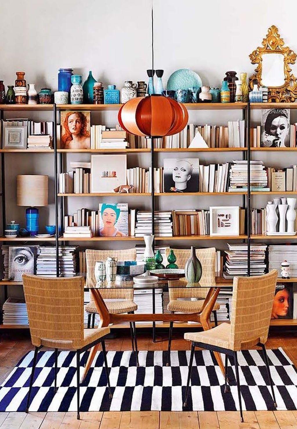 Elegant Bookshelves Decor Ideas That Trending Today 07