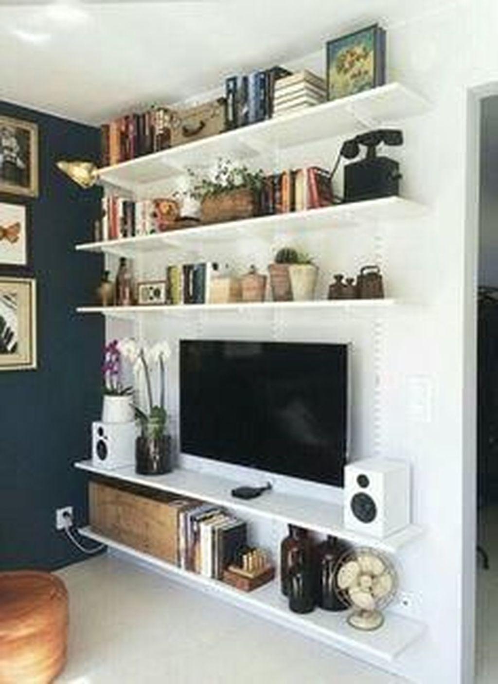 Elegant Bookshelves Decor Ideas That Trending Today 13