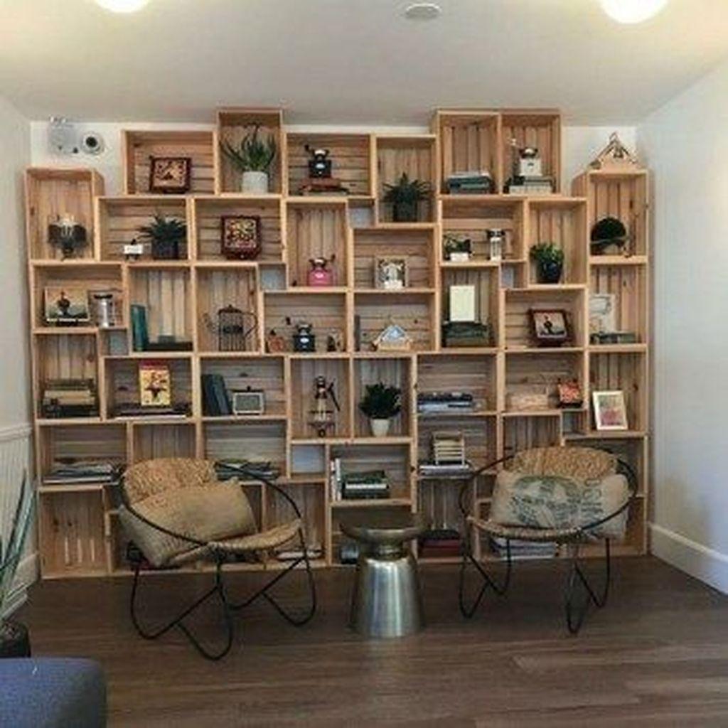 Elegant Bookshelves Decor Ideas That Trending Today 14