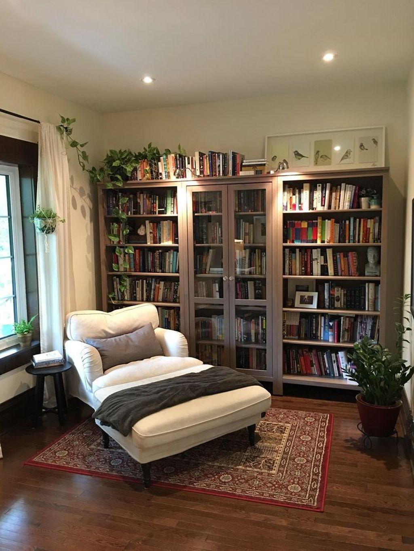 Elegant Bookshelves Decor Ideas That Trending Today 20