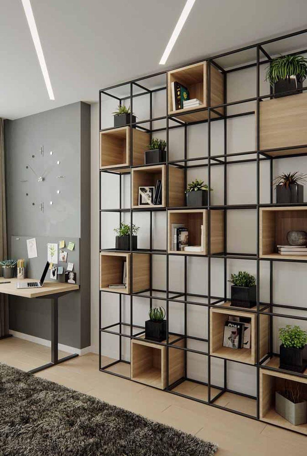 Elegant Bookshelves Decor Ideas That Trending Today 21