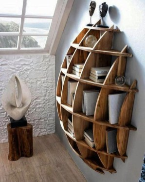 Elegant Bookshelves Decor Ideas That Trending Today 27