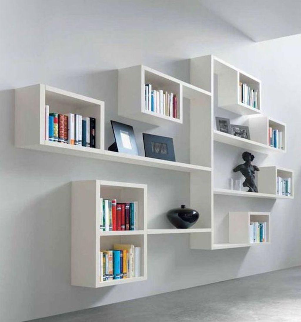 Elegant Bookshelves Decor Ideas That Trending Today 33