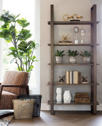 Elegant Bookshelves Decor Ideas That Trending Today 55