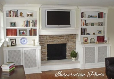 Pretty Bookshelves Design Ideas For Your Family Room 03
